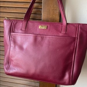 Kate Spade pebble leather tote